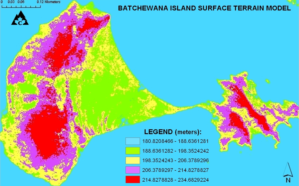 Batchewana Island Terrain Model